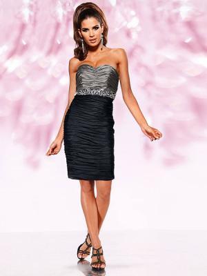 Платье Heine. Цвет: черный, серебристый