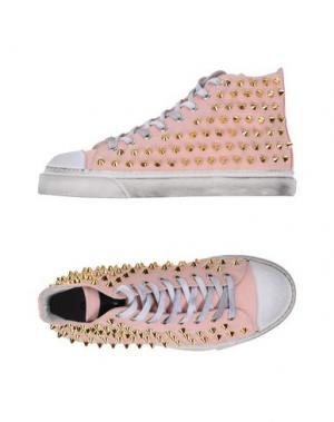 Высокие кеды и кроссовки GIENCHI. Цвет: розовый