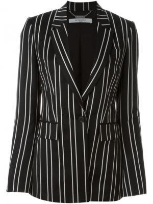 Блейзер в тонкую полоску Givenchy. Цвет: чёрный