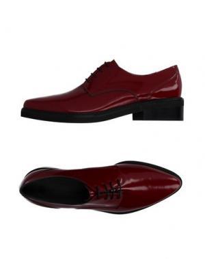 Обувь на шнурках FIORIFRANCESI. Цвет: красный