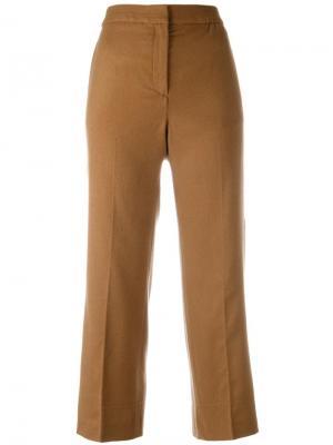Укороченные брюки Each X Other. Цвет: телесный