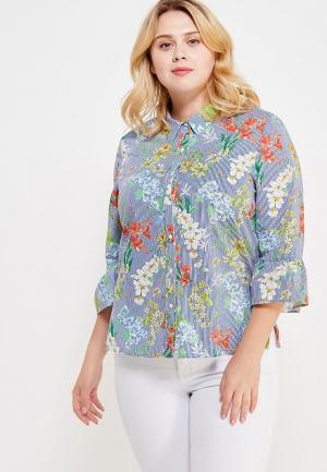 Блуза Violeta by Mango. Цвет: разноцветный