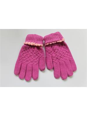 Перчатки Cascatto. Цвет: фиолетовый