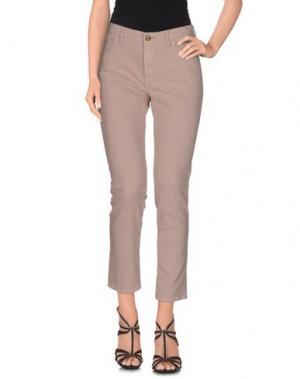 Джинсовые брюки JECKERSON. Цвет: пастельно-розовый