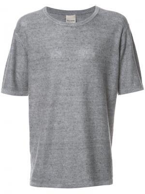 Базовая футболка Baldwin. Цвет: серый