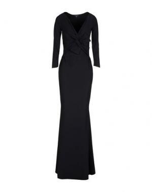 Длинное платье CHIARA BONI LA PETITE ROBE. Цвет: черный