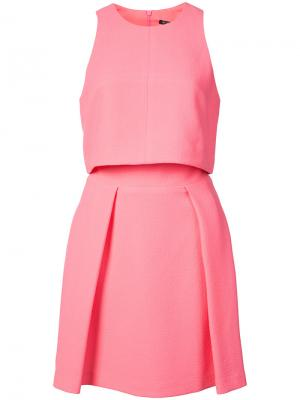 Платье Daytripper Black Halo. Цвет: розовый и фиолетовый