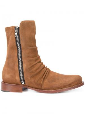 Ботинки Stack Amiri. Цвет: коричневый