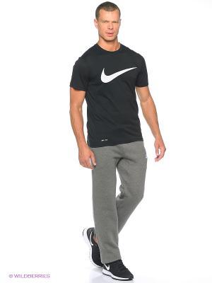 Брюки M NSW PANT OH FLC CLUB Nike. Цвет: темно-серый, белый