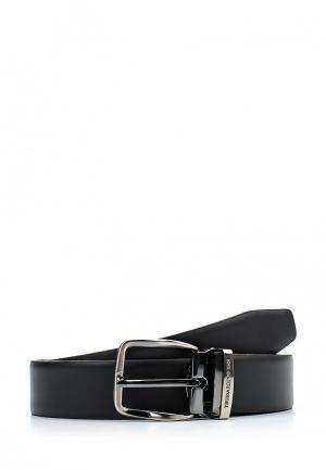 Ремень Trussardi Jeans. Цвет: черный