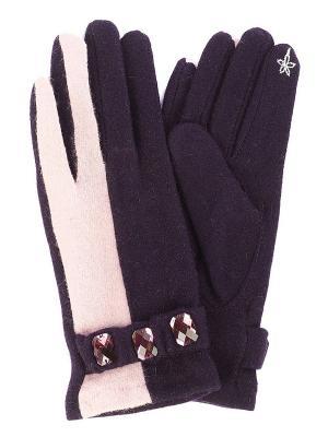 Перчатки Moltini. Цвет: фиолетовый
