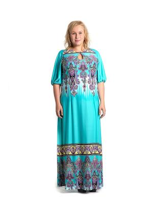 Платье Капелька голубая Glam Goddess