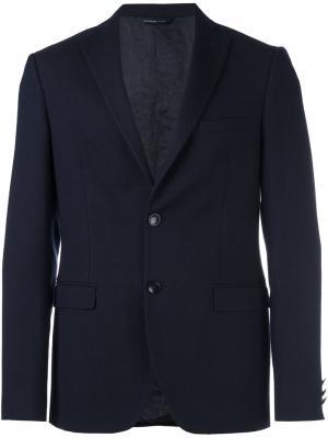 Пиджак с застежкой на две пуговицы Tonello. Цвет: синий