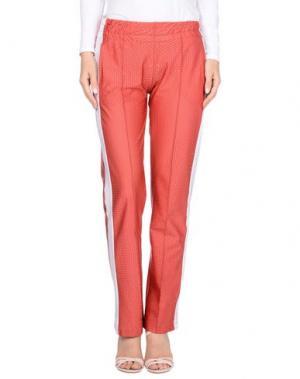 Повседневные брюки 4GIVENESS. Цвет: красный