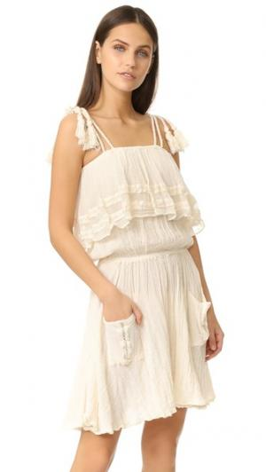 Платье Nala Jen's Pirate Booty. Цвет: коричневый