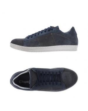 Низкие кеды и кроссовки BAGATT. Цвет: темно-синий