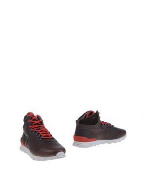 Полусапоги и высокие ботинки CLAE. Цвет: темно-коричневый