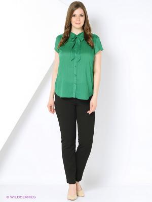 Блузка Полина. Цвет: зеленый