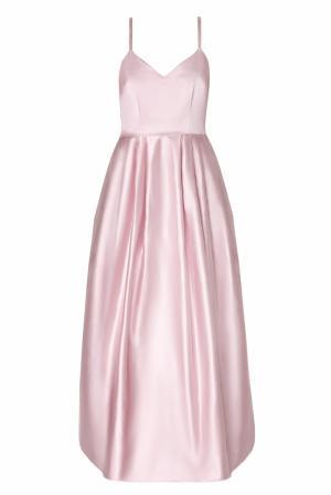 Однотонное платье Natalia Valevskaya. Цвет: розовый