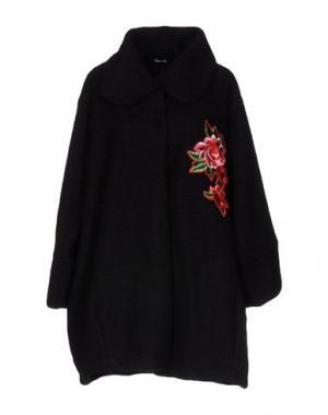Пальто ODI ET AMO. Цвет: черный