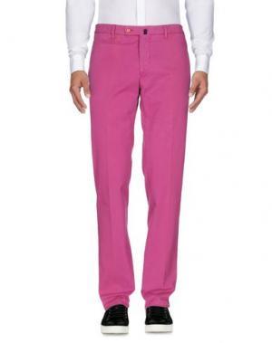 Повседневные брюки MILA SCHÖN. Цвет: розовато-лиловый
