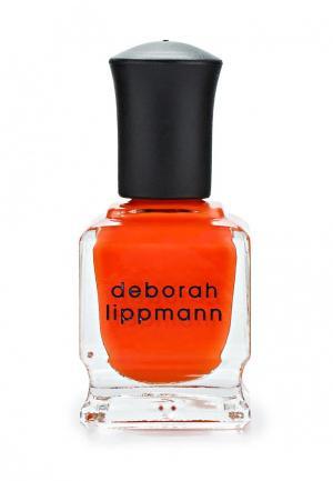 Лак для ногтей Deborah Lippmann. Цвет: оранжевый