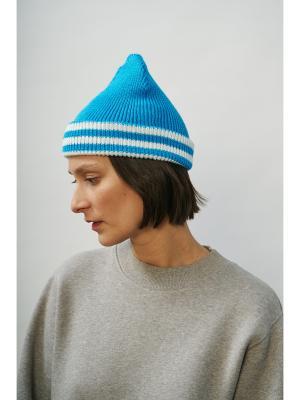 Шапка Check Ya Head. Цвет: голубой