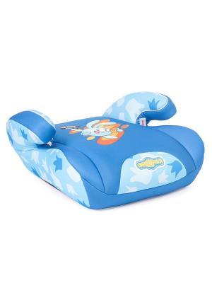 Кресло-Бустер, Sm/Dk-500 Krosh Смешарики. Цвет: синий