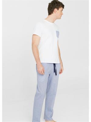 Пижамный комплект - PYOX MANGO MAN. Цвет: синий