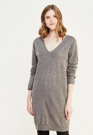 Платье Sweewe. Цвет: серый