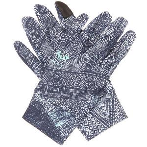 Перчатки сноубордические женские  Liner Peacoat avoya Roxy. Цвет: синий,белый
