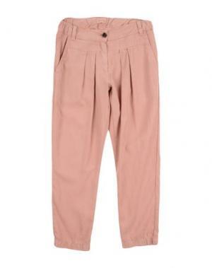 Повседневные брюки MORLEY. Цвет: телесный