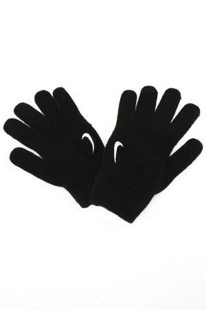 Вязанные перчатки Nike. Цвет: черный, белый
