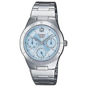 Часы  Collection Ltp-2069d-2a Silver/Blue Casio. Цвет: серый,голубой