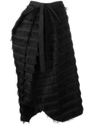 Юбка асимметричного кроя Chalayan. Цвет: чёрный