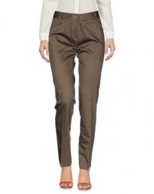 Повседневные брюки KEN BARRELL. Цвет: хаки