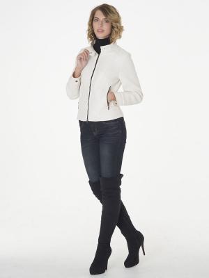 Куртка CATTAIL WILLOW. Цвет: молочный