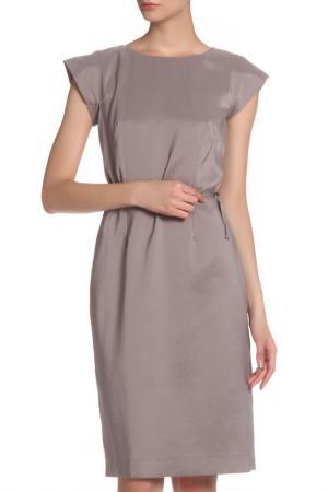 Платье MODART. Цвет: кофейный, молочный