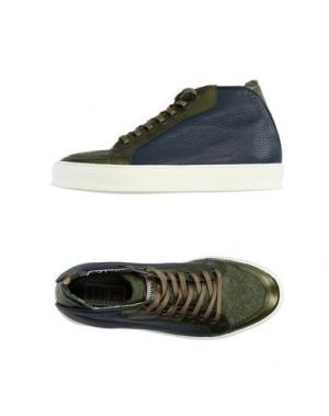 Высокие кеды и кроссовки YAB. Цвет: темно-синий