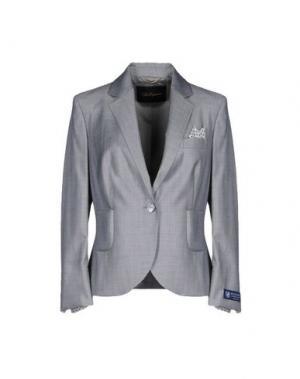 Пиджак LES COPAINS. Цвет: серый