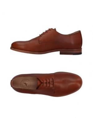 Обувь на шнурках ROKIN. Цвет: коричневый