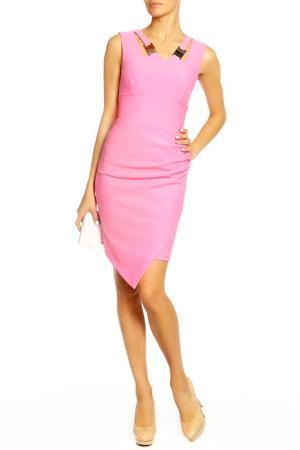 Платье Diva. Цвет: розовый