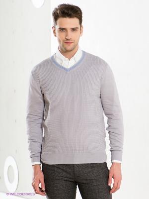 Пуловер GroStyle. Цвет: серый