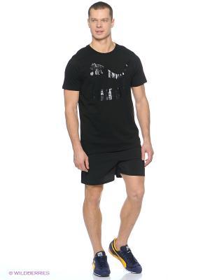 Шорты Pace 5 Short Puma. Цвет: черный