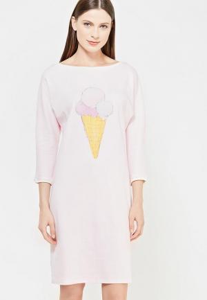 Сорочка ночная Lisa&Leo. Цвет: розовый