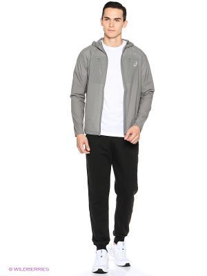 Куртка WATERPROOF JACKET ASICS. Цвет: серый