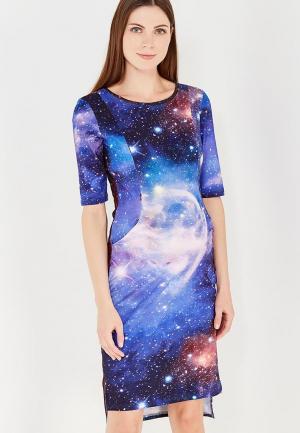 Платье MilkyMama. Цвет: разноцветный