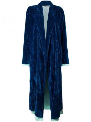 Пальто Talitha Attico. Цвет: синий