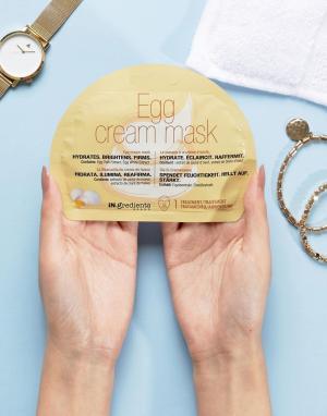 MasqueBAR Крем-маска с экстрактом яичного желтка iN.gredients. Цвет: бесцветный