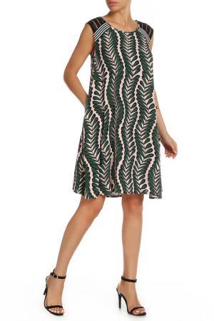 Платье Beatrice. B. Цвет: светло-розовый, зелёный
